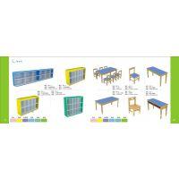 厂家直销幼儿园桌椅、柜、床、门、游戏区、室内外装饰设计