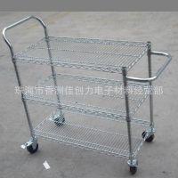 供应防静电线网手推车|线网货架