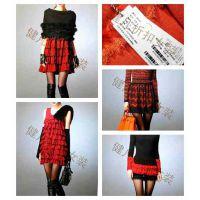 品牌清货女装 时尚毛衣品牌毛衣连衣裙 打底衫库存低价清货