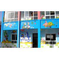 新佳豪特别推荐幼儿园户外装饰画,墙体彩绘,室内电视墙绘画