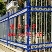 天津围墙栏杆栅栏|小区铸铁围墙栏杆|弯弧防爬钢管围墙护栏