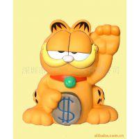 质优价廉 塑料招财猫存钱罐 卡通动物形状储钱罐 家居礼品系列