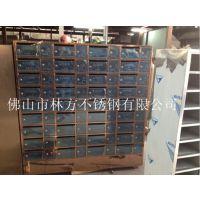 不锈钢报纸箱定做,柳州居民楼标准尺寸信报箱批发加工
