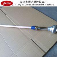 供应天津厂家供应 工业用S型单铂铑热电偶WRP-230