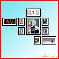 时尚 照片墙相框 卡通 义乌组合相框 情侣 照片墙批发 相片墙组合