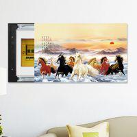 厂家销售电表箱装饰画可推拉电源盒开关式客厅现代有框风景壁画