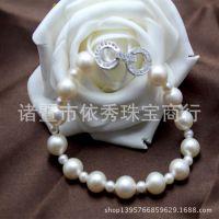 精美饰品 正品天然淡水珍珠手链 正圆 强光无瑕 高品质GYA1043