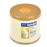 创意家居用品纸巾桶圆形纸巾餐厅纸巾桶塑料纸巾筒1076@