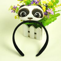 10款爆款推荐厂家批发日韩创意熊猫喵星人猫咪头发箍发夹头箍