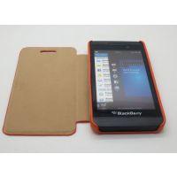 黑莓Z10手机保护壳 Q10左右开皮套 支架皮套 BB10皮套素材 手机壳