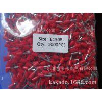 供应针式线鼻子E7508 过线管型铜端头VE7508冷压端 接线鼻价格