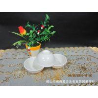 密胺餐具仿瓷白色碗 小碗 饭碗 甜品碗