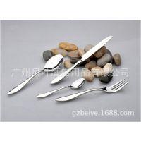 酒楼酒店餐厅用品 自助餐具批发 西餐 不锈钢刀叉勺餐具套装
