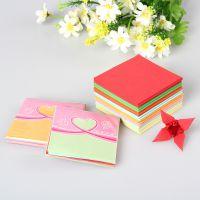 052 儿童手工折纸 diy彩色千纸鹤叠纸 70g复印纸 彩色卡纸