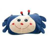冬季保暖 可爱小螃蟹双插手热水袋/电暖袋 支持一件代发