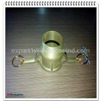 Brass cam lock coupling type B