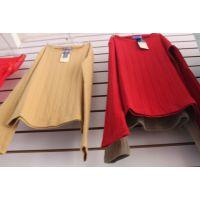单件秋衣上衣批发生产女式莫代尔圆领保暖内衣 保暖内衣上衣处理