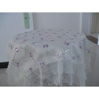 【厂家直销】供应专业生产质优价廉餐椅垫餐椅套装 桌布多用巾