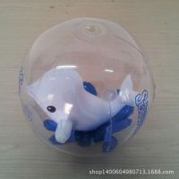 充气球 充气沙滩球 充气透明海豚球 厂家直销质量保证