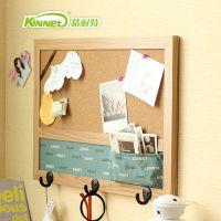 创意zakka进口软木板 多功能家居收纳挂件 水松板留言背景墙