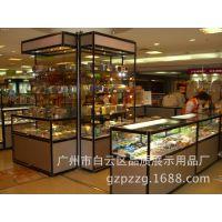 钛合金展柜 广州精品玻璃展柜  烟酒化妆品展示架 012礼品展柜