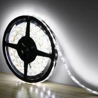 JH专业生产3528 60灯led灯带 高亮贴片软灯条 低压防水灯带