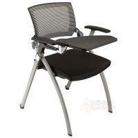高档培训椅 网布培训写字板椅 学习会议办公记录椅子 众晟家具批发厂家