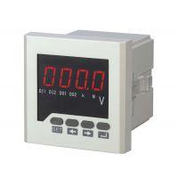 供应厂家生产120*120单相电压表 智能数显表 数显数字式电压测量仪表
