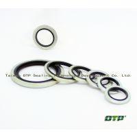 供应进口组合垫自定心碳钢材质 不锈钢氟橡胶材质复合型密封圈