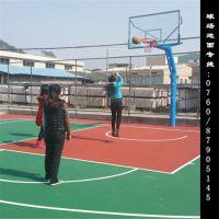 供应佛山球场地面地坪漆操作-禅城环市篮球场地面材料弹性丙烯酸施工