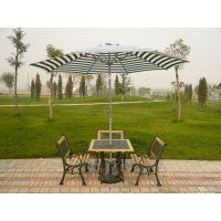 供应供天津户外家具大连户外休闲桌椅沈阳遮阳伞长春铁木桌椅