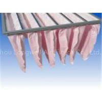 Non-woven multi-pocket bag filter for prefilter systems & ventilation