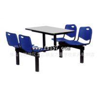 金之源厂家直销快餐桌椅 塑料餐桌椅