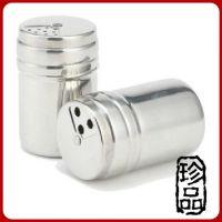 1个装 不锈钢烧烤调味瓶/调料瓶/调料罐/调味罐/厨房/调料盒盐罐