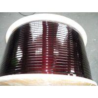 厂家批发电磁线电焊机特种变电器高温纱包扁铜线漆包线1公斤起定
