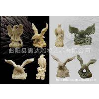 大理石雕刻鹰 工艺品石雕鹰 雕塑鹰  石头鹰dw-666