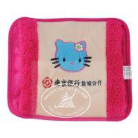 烫画暖手宝刺绣暖水袋 充电热水袋 广告暖手袋 成都礼品定制