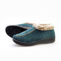棉鞋批发冬款女士正宗老北京布鞋加厚保暖棉靴厚底绒面毛靴06301