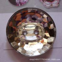 永嘉生产两眼圆形透明水晶亚克力纽扣扣子13-34mm