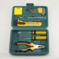 厂家直销家用12pcs礼品组合工具套装 五金套装工具 维修工具批发