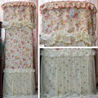 奥芬奇 索菲亚柜式空调罩 立式柜机全包 田园布艺防尘罩套 批发