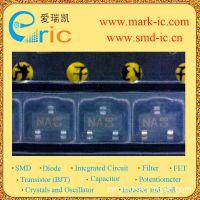 KRC101S 数码晶体管 NPN 50V 0.1A 4.7K 4.7K SOT-23 KEC