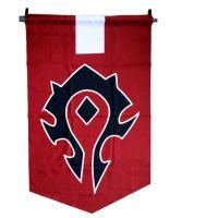 动漫魔兽世界部落联盟旗帜***经典收藏 网络游戏周边道具周边批发