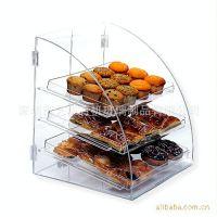 亚克力面包架,亚克力透明面包架蛋糕架,有机玻璃制品,食物展示架