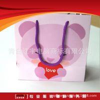 印刷牛皮纸袋儿童服装内衣精致礼品袋服装手提袋深圳厂家