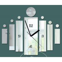 新款镜面钟表 时尚个性挂钟  ebay 敦煌 速卖通 amazon好货源挂钟