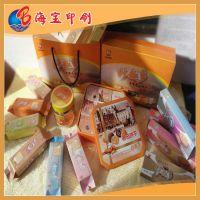 厂家直销 高品质手提瓦楞纸盒 食品包装纸盒