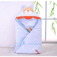 2014秋冬新款婴儿抱被 汤博士6209全棉加厚儿童睡袋抱被