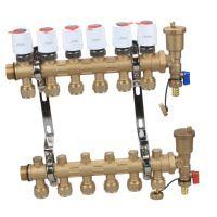 供应普尔纳森|Puarnus MC-FS8007黄铜锻造一体智能型集分水器