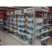 厨房电器陈列展柜 超市货架 木质烤漆展柜/多功能柜柜/可移动拆装